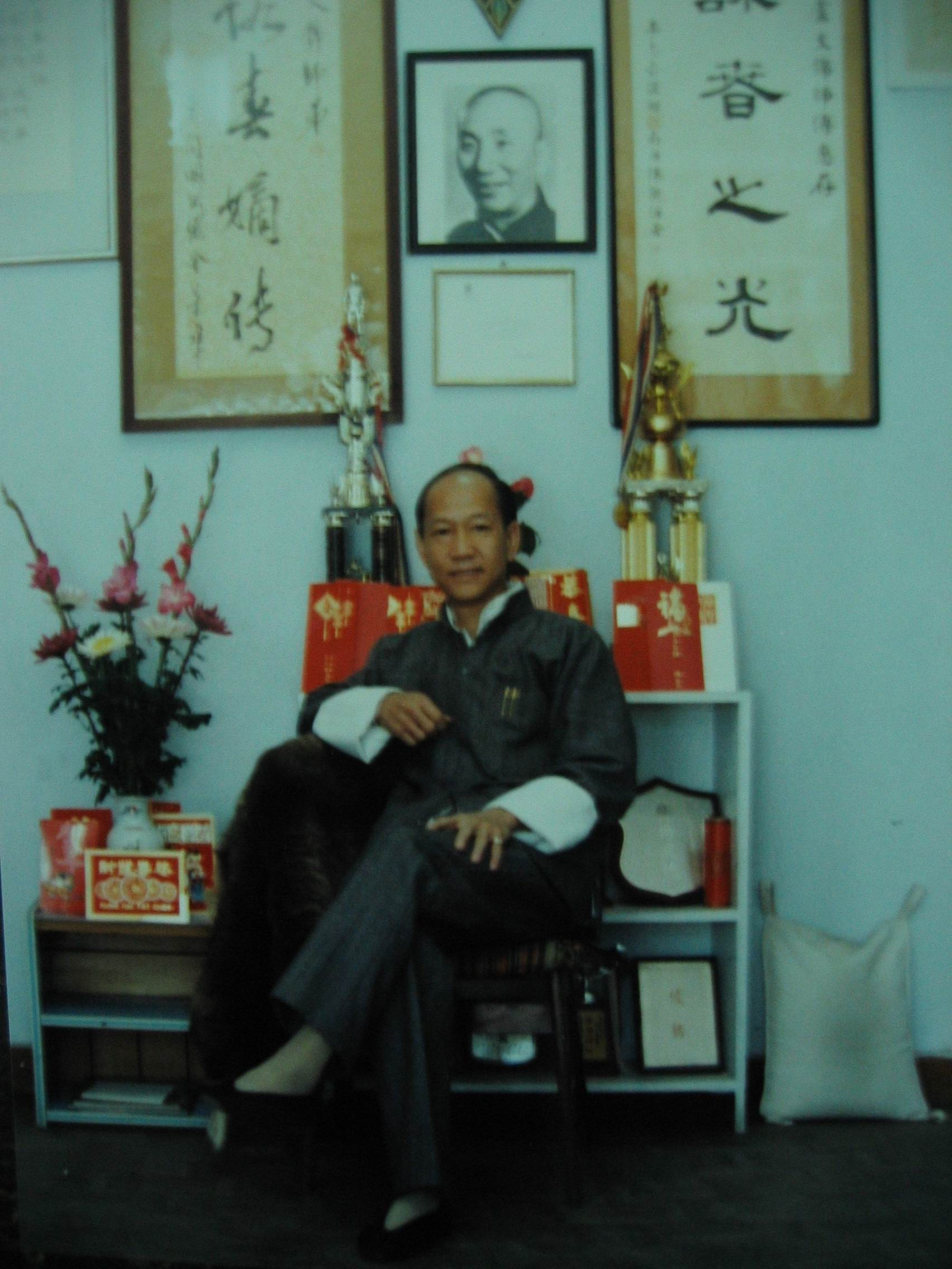 Sifu Lo Man Kam in Taipeh